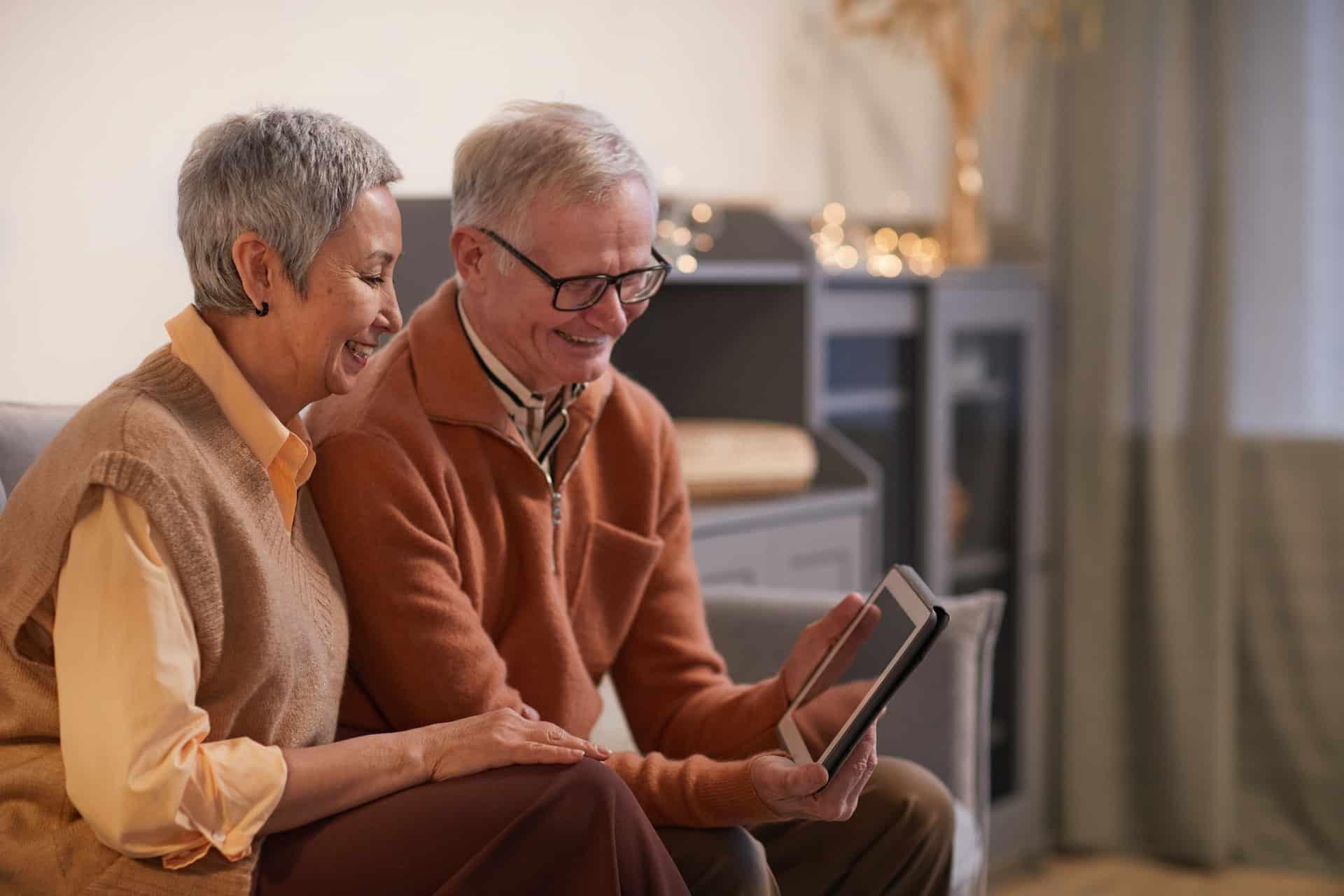 digital picture frame for grandparents