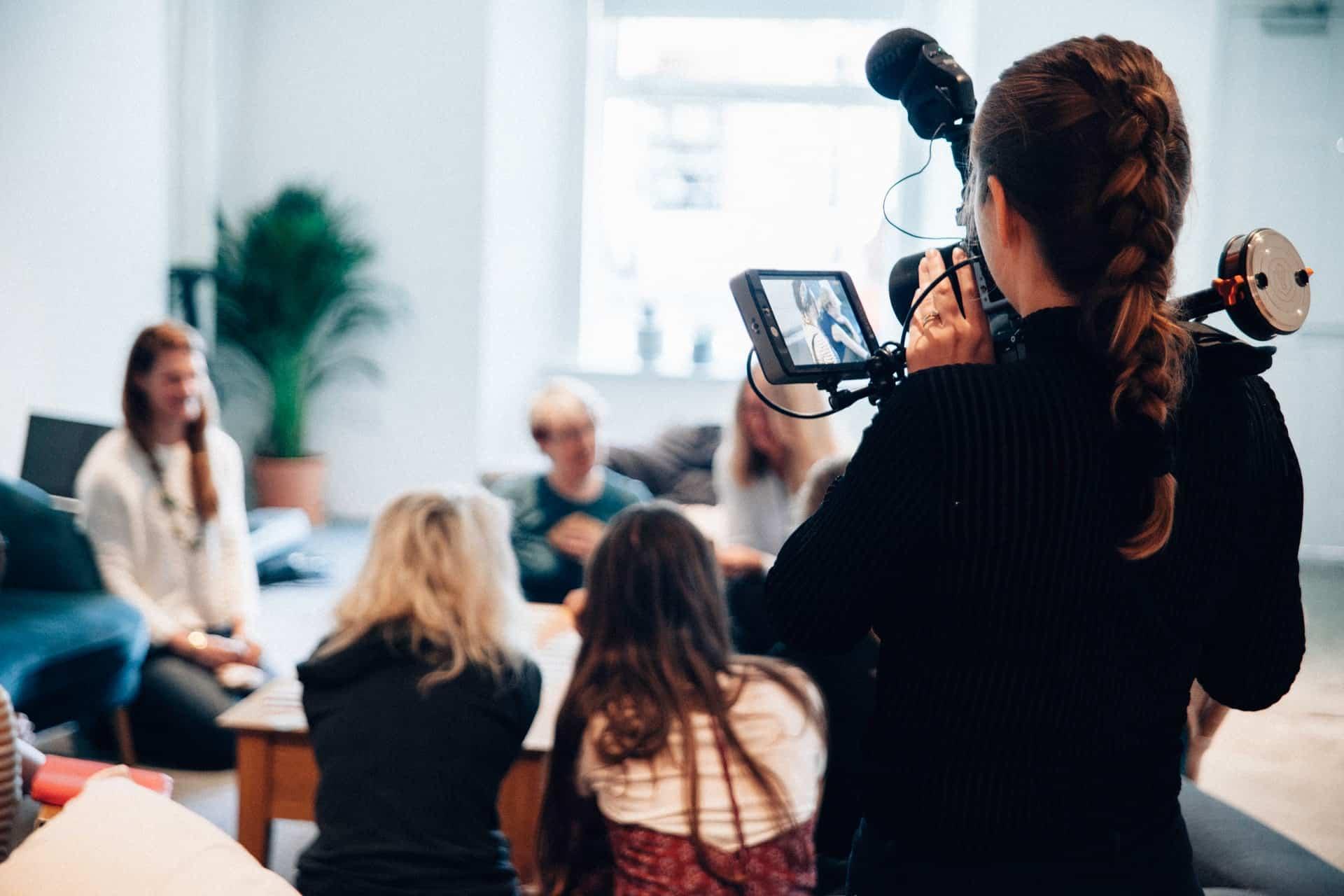 cadre vidéo numérique