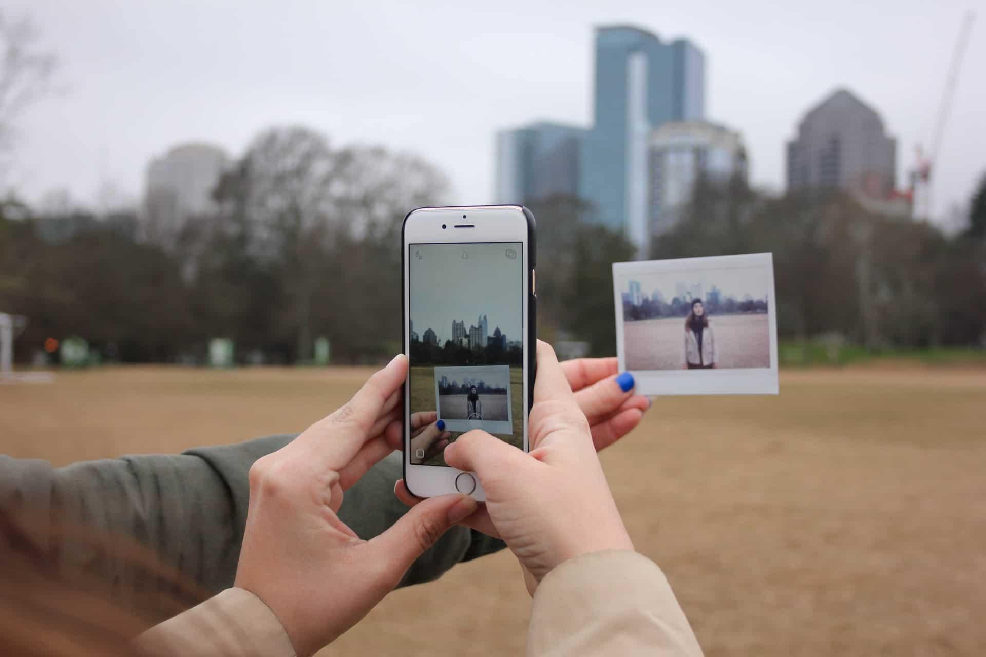 Pix-Star Snap iOS capture photos inside app