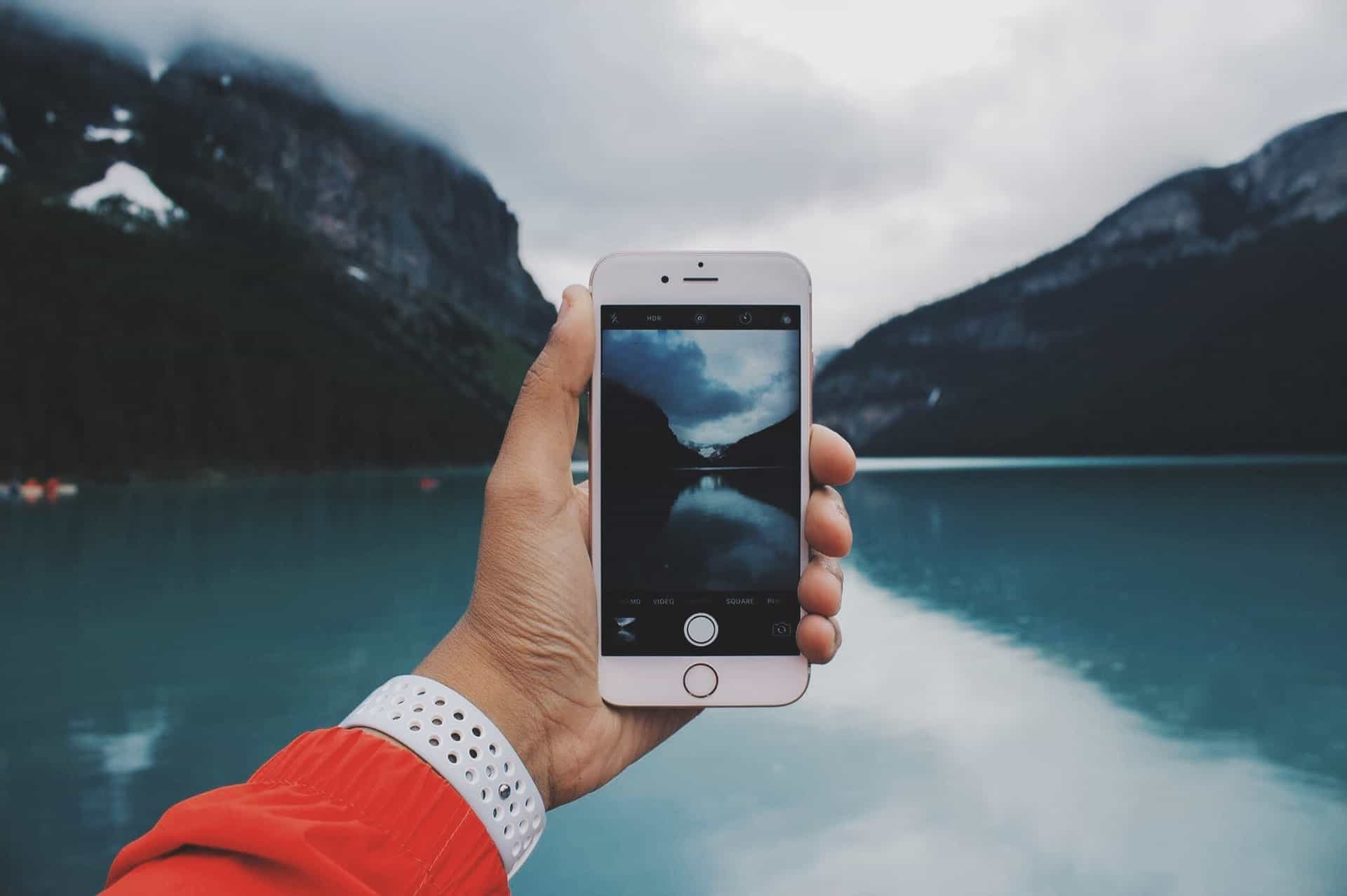 how to send photos to a digital frame from iPhone
